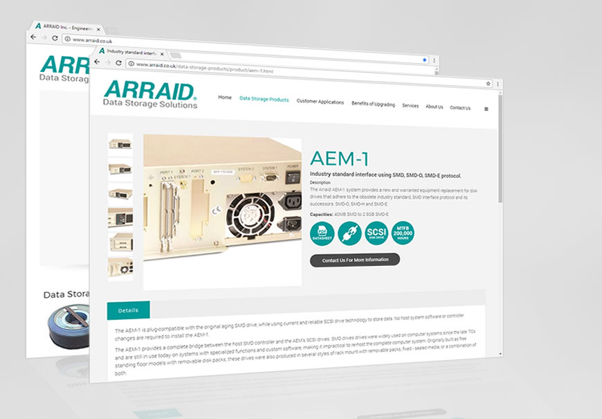 Arraid, LLC launch their new website - June 2017